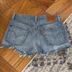 Levi's Shorts - Levi 501 high rise shorts